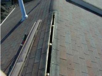 Roof Cleaning - Ridge Vents or Peaks