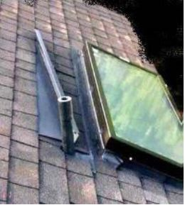 Roof Cleaning - Skylights