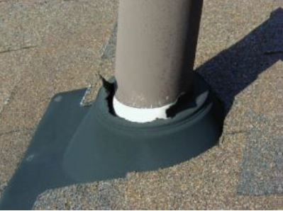 Roof Cleaning - Vent Pipes